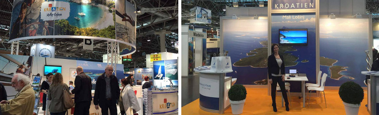 Boat show Dusseldorf 2016 Germany