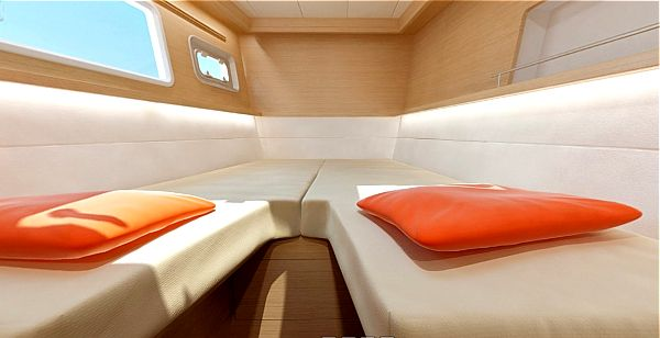 Lagoon 450 interior - Yacht charter in Croatia