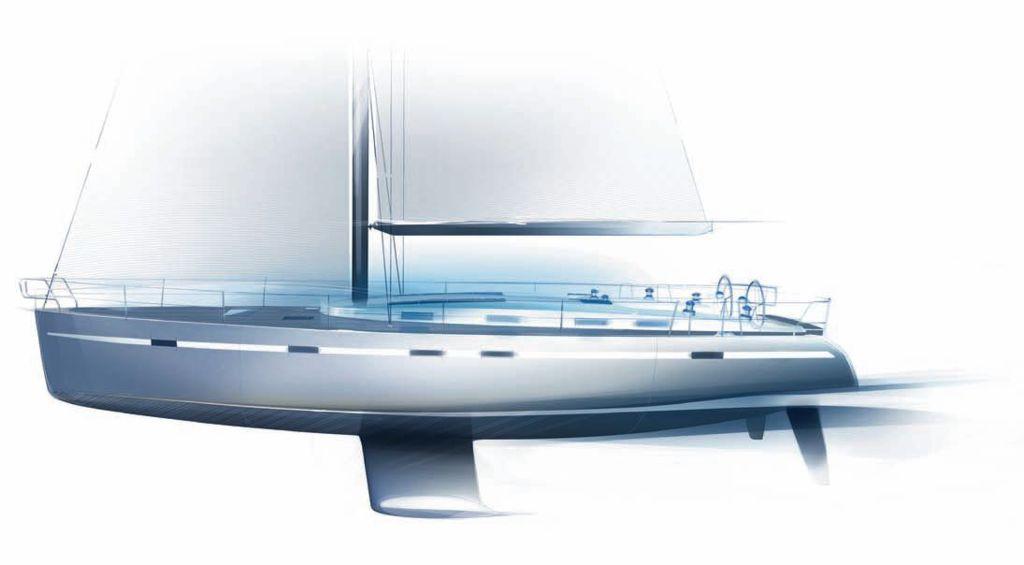 Yacht charter in Croatia - Bavaria Cruiser 55 Exterior