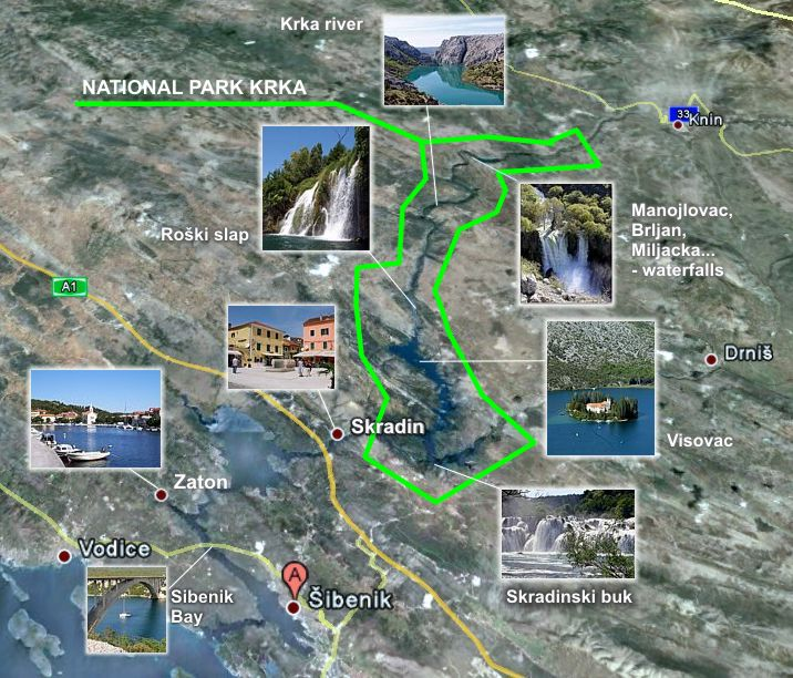 the map of northeast region with National Park Krka on National Park Krka moreover Territorial Claims Maps besides Maps Of Guyana moreover New England Stereotypes Map additionally Ukraine Conflict Creeps Crucial City Odessa N97391.