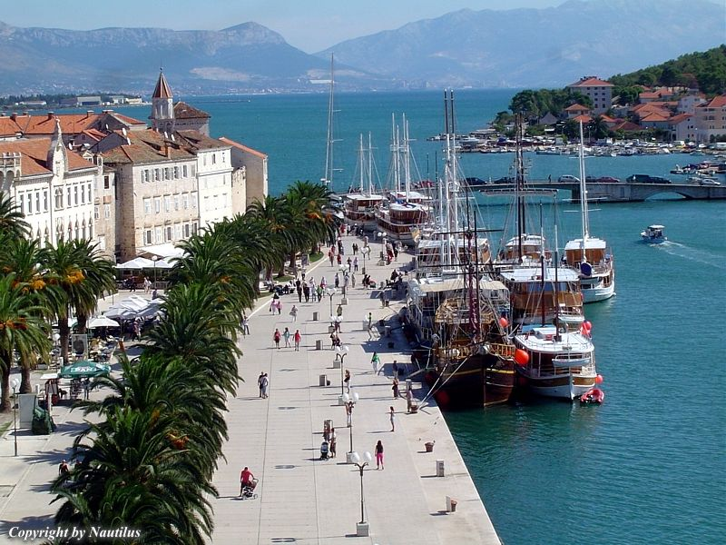 Trogir Croatia  city pictures gallery : Charter base Trogir, Croatia, Dalmatia